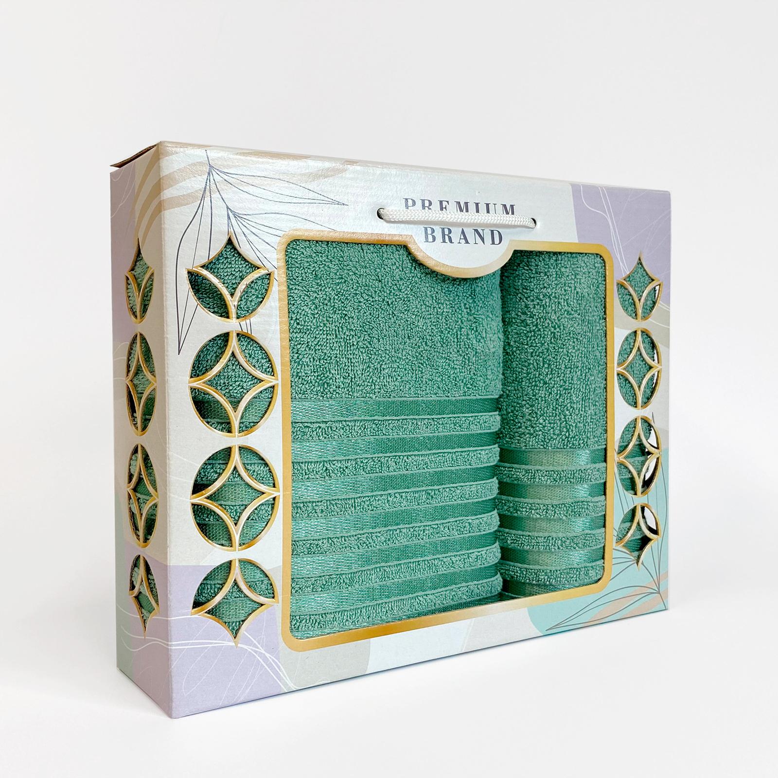Гармония набор махровых полотенец